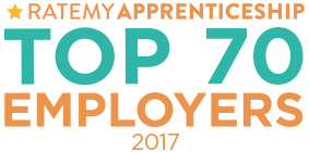 RateMyApprenticeship Top 70