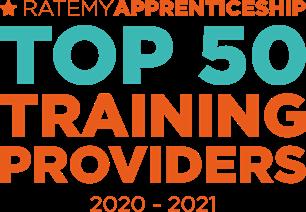 RateMyApprenticeship Top 50 training providers