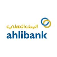 Ahlibank logo