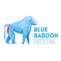Blue-Baboon Digital logo