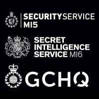 MI5, MI6 & GCHQ logo