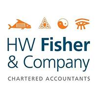 HW Fisher logo