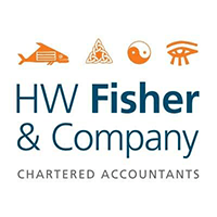 HW Fisher logo