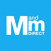 M and M Direct logo