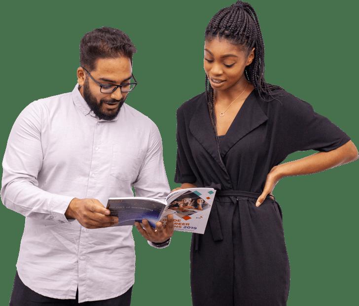 Khamal & Danielle apprentices